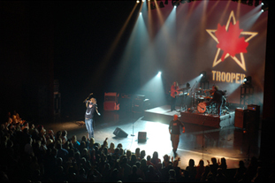 Trooper live photo. Photo credit required: Kevin Cahoon